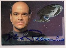 Star Trek Auto Signed Voyager Season 2 E7 The Doctor Robert Picardo v25