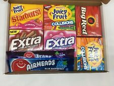 Sweets Heaven Branded American Gum Selection Wrigleys & Airhead Candy Gift Box
