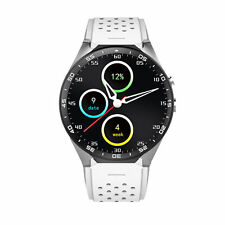 KW88 Bluetooth4.0 GPS WIFI 3G Smart Watch Remote Camera 4GB for Android5.1 White