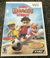 Big Beach Sports (Nintendo Wii) Clean & Tested Working - Free Ship