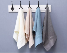 1 Luxury Hand Towels Soft 100% Cotton,16x27 inches, for Salons, Spas, Gyms, Home