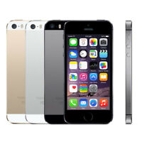 Unlocked Apple iPhone 5S 16GB 32GB 64GB Factory Smartphone GOLD SILVER GREY