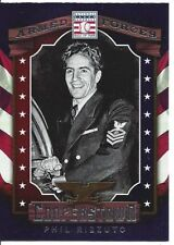 PHIL RIZZUTO #11 Yankees US Navy 2015 Panini Cooperstown HOF Armed Forces SP