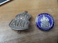 More details for original pressed steel company limited arp badge and sliver arp badge