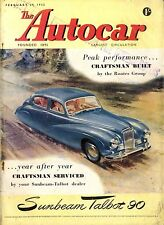Autocar Magazine 1952-29/2 Road Test Allard K2 - The Valeta Vanquished