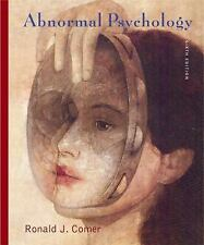 Abnormal Psychology, Ronald J. Comer, 0716769069, Book, Very Good