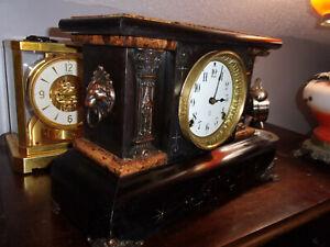 Antique Seth Thomas Adamantine Mantel Clock- Runs & Sounds Great