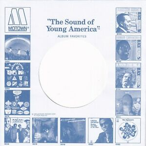MOTOWN, SOUNDS OF YOUNG AMERICA Repro Record Sleeves - (pack of 15) blue M