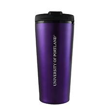 The University of Portland-16 oz. Travel Mug Tumbler-Purple