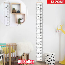 Kids Growth Chart Children Room  Wall Nursery Hanging Height Measure Ruler  NW