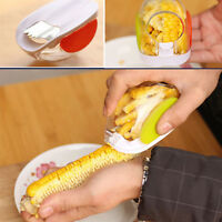 Corn Peeler Thresher Kitchen Tool Cob Kerneler Cutter Stripper Set Removers