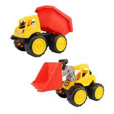 Les jouets de véhicule de construction de 2 morceaux de plage poussent