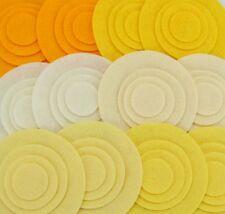 Daffodil - 48 Die Cut Wool Blend Felt Circles