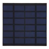 1.5W 6V Polycrystalline Silicon PET Laminated Processing Solar Cell Panel R1BO