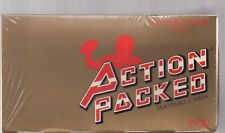 1990 ACTION PACK UPDATE FOOTBALL FACTORY SEALED BOX 24 KT GOLD CARDS