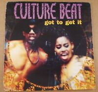 """Culture Beat : Got To Get It : Vintage 7"""" Single from 1993"""