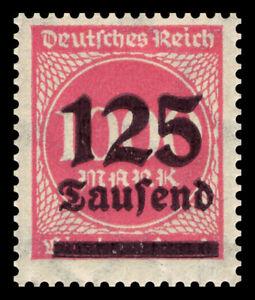 Germany Deutsches Reich 1923 Mi. Nr. 291a 125,000M on 1000M Definitive Ovpt. MNH