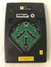 Entex Electronics 1978 Vintage Electronic Baseball Game Model 8001 Black