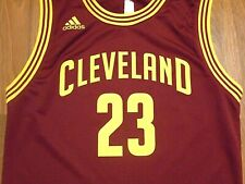 Vintage LeBron James #23 Cleveland Cavaliers Jersey by Adidas, Youth M, NICE!!