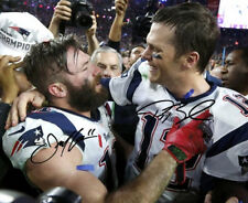 JULIAN EDELMAN & TOM BRADY SIGNED PHOTO 8X10 RP AUTOGRAPHED NEW ENGLAND PATRIOTS