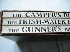 The Freshwater Fisherman's Bible, Gunner's Bible, Camper's Bible Boxed Set 1961
