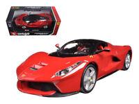 Ferrari Laferrari F70 Red 1:24 Diecast Model Car Bburago - 26001RD *