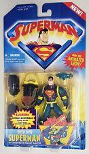 SUPERMAN ANIMATED SERIES DEEP DIVE SUPERMAN WITH UNDERWATER ROCKET BLASTER