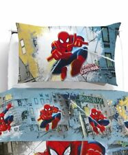 Lenzuola Spiderman Parure Singola Caleffi Disney Spiderman Broadway