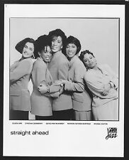 Vintage Original Ltd Edition Promo Photo 8x10 Straight Ahead Circa 1990