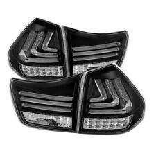 Lexus 04-09 RX330 RX350 SUV Black LED Tube Style Rear Tail Brake Lights Pair Set