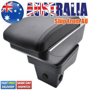 Armrest Central Console Box For Suzuki Vitara 2015-2019 Dual Console Leather