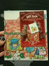 Vintage 80's Strawberry Shortcake Christmas Gift box new in plastic! Rare!