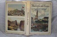 Malerisches Europa - Großformat Buch - Orig. Ausgabe von 1970 - TOP Zustand /S56