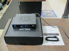 Mytek Brooklyn DAC w MQA Headphone Amp, Phono Black NICE