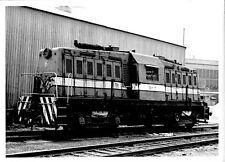 1971 Dofasco Railway Train #6 65T Engine Shops Yard 5x7 Photo X2200S Ontario M