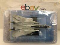 "DIE CAST "" F-14A Tomcat US Navy VF-84 JOLLY ROGERS "" AEREO SCALA 1/100 HACHETTE"
