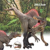 11'' Spinosaurus Dinosaur Figure Jurassic Animal Model Collector Toy Gift Decor