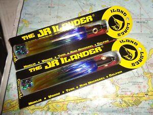 "2 ILAND LURES THE JR ILANDER DOLPHIN JR450F-DOL 6.75"" 1.75 OZ NEW 041875480115"