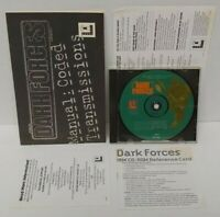 Star Wars Dark Forces 1994 PC Game CD + Manual - Mint Disc 1 Owner !