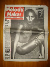 MELODY MAKER 1980 AUG 23 GRACE JONES PAUL SIMON HENDRIX