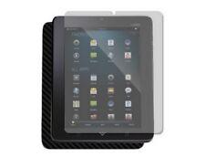 Skinomi Black Carbon Fiber Body + Screen Protector Film for Vizio Tablet