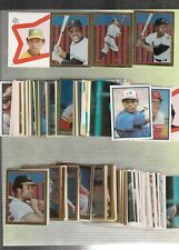 1983 Topps Baseball Sticker Set Mint (330) + Free Unused Album