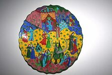 HAND MADE TURKISH CERAMIC PLATE - WALL DECOR - OTTOMAN - 41 CM - SIGNED