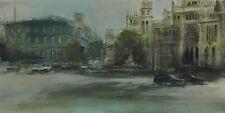 Acuarela * watercolor * Gran Vía, Madrid *  obra original