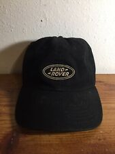 LAND ROVER OFFICIAL GEAR Cap Black Authentic Land Rover Cap One Size