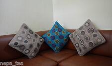 Luxury Sofa set Felted cushion covers Pillow Set of 3 Felt Woolen Soft  FEL1
