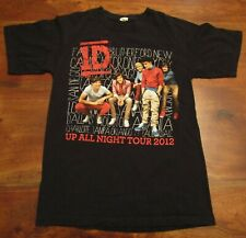 One Direction Up All Night 2012 Tour T-Shirt Anvil Tee Shirts Size Small
