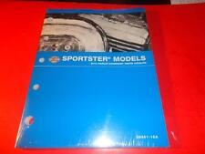 NEW OEM HARLEY DAVIDSON PARTS CATALOG MANUAL 2010 SPORTSTER MODELS 99451-10A