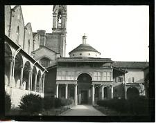 Italie, Florence, chapelle des Pazzi Vintage silver print,  Tirage argentique