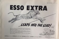 Esso Extra, 1953, Vintage Advert, Original